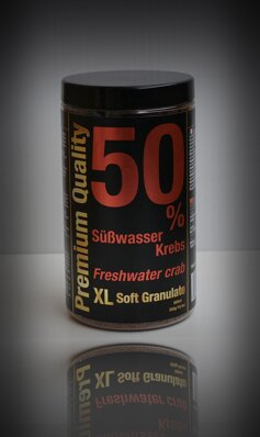 Freshwater Crab 50% XL Granulate Soft 550gr